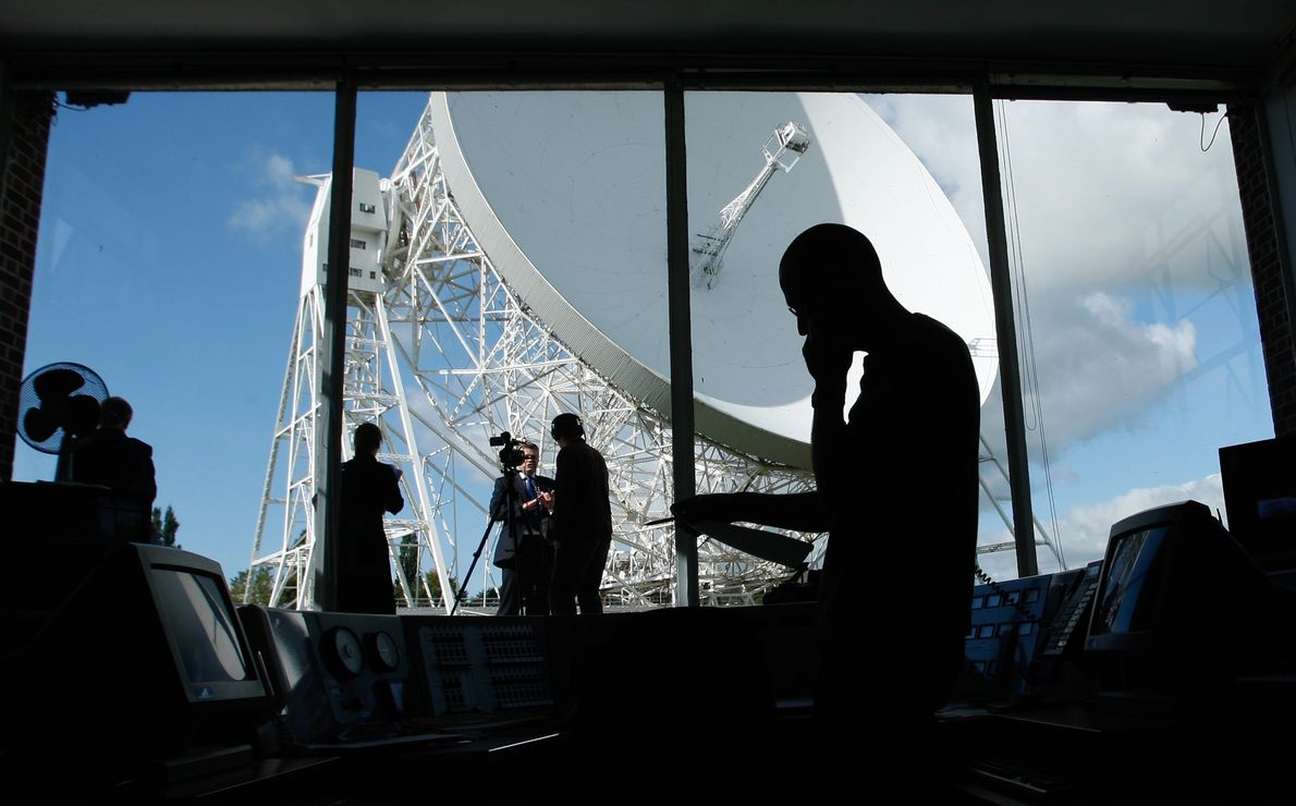 Observatorio de Jodrell Bank, Gran Bretaña