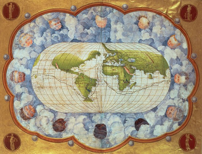 Mapa de 1545