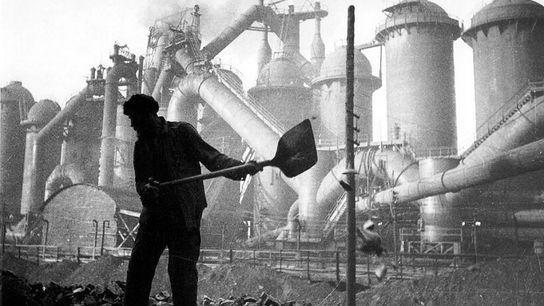 Constructión de Magnitogorsk (1930)