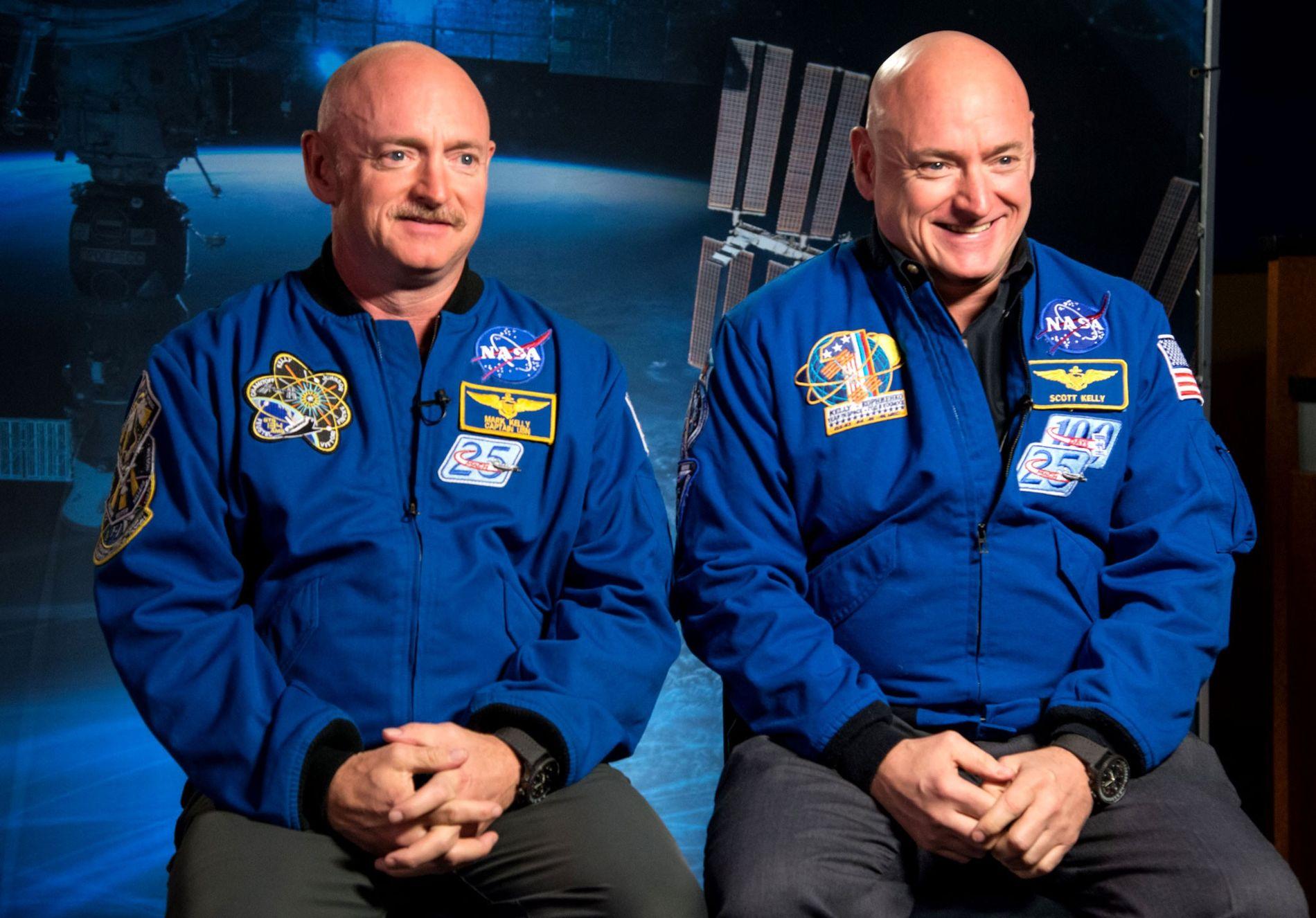 Scott y Mark Kelly