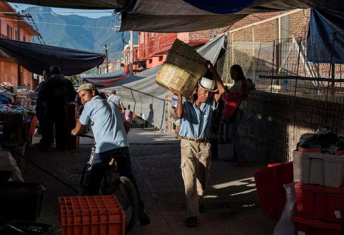 Mercado en Tiacolula