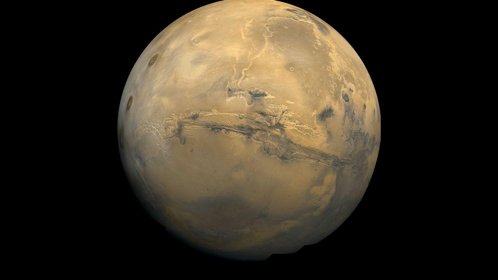 El globo de Marte