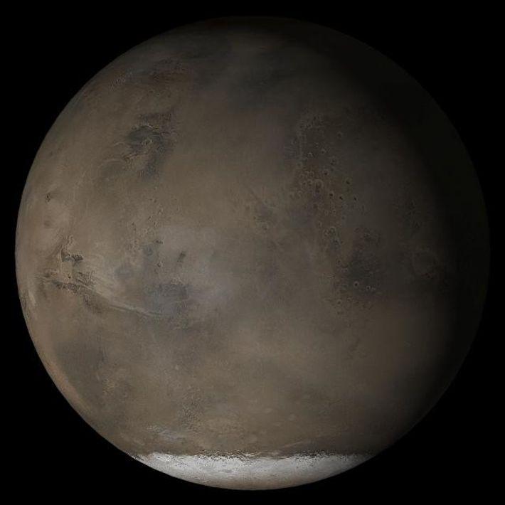 Imagen compuesta de Marte