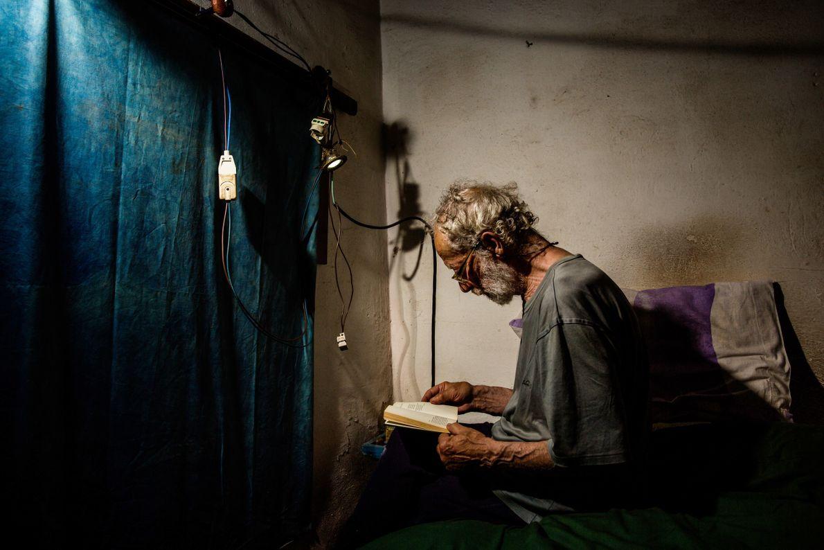 Morandi es un ávido lector
