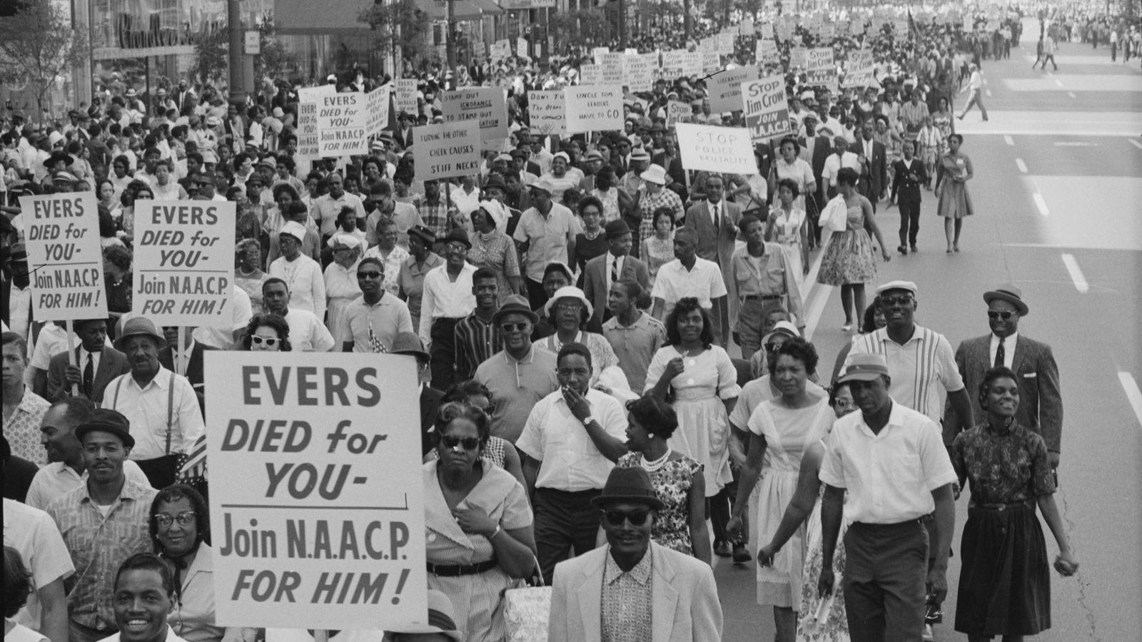 Marcha de la libertad de Detroit