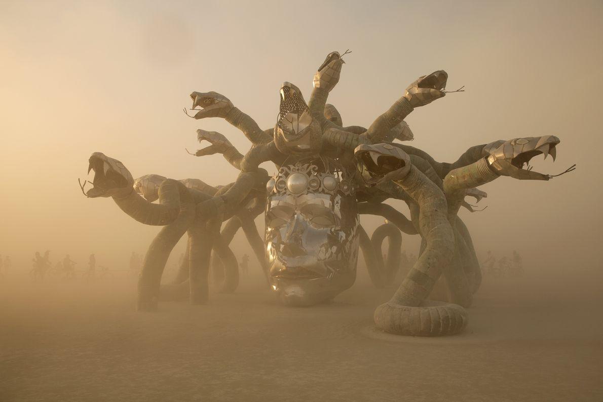Escultura de Medusa