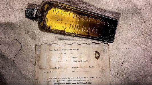 Descubierto en una playa el mensaje en una botella más antiguo del mundo