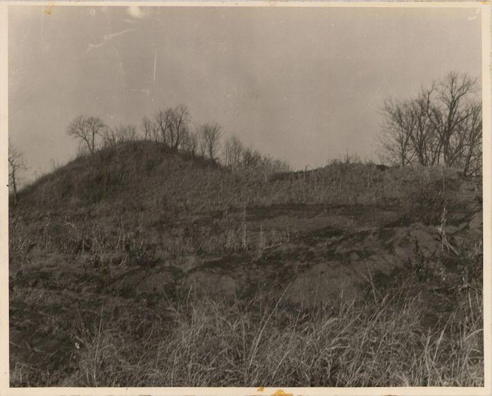 Montículos de Spiro circa 1936
