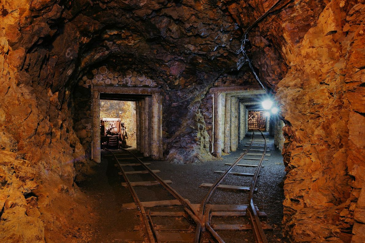 Región minera de Erzgebirge/Krušnohoří, Alemania y Chequia