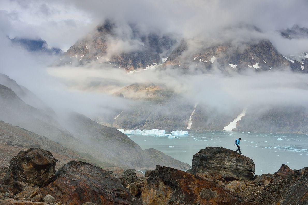 Paisaje de Groenlandia