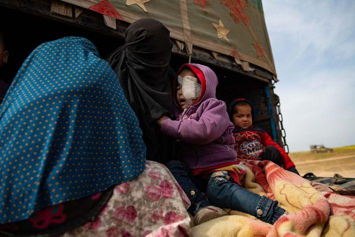 Un niño sirio