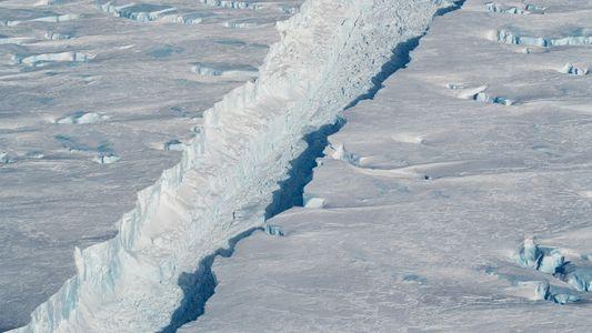 El iceberg B-46