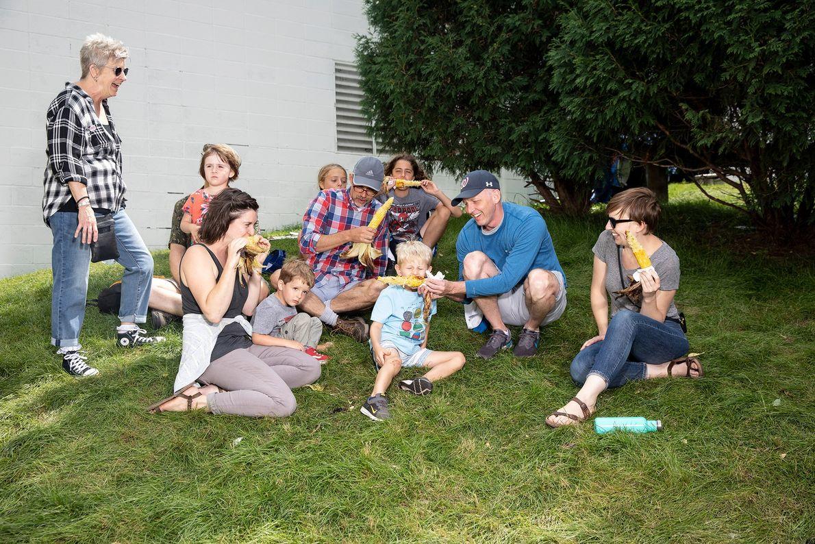 La familia Ronning