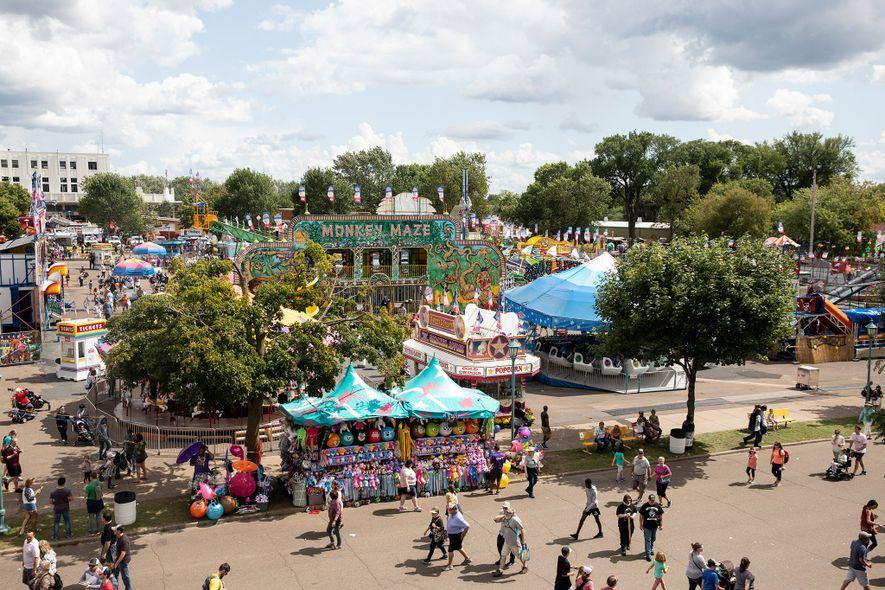 La Feria Estatal de Minnesota es la segunda más grande de Estados Unidos (por detrás de Texas).