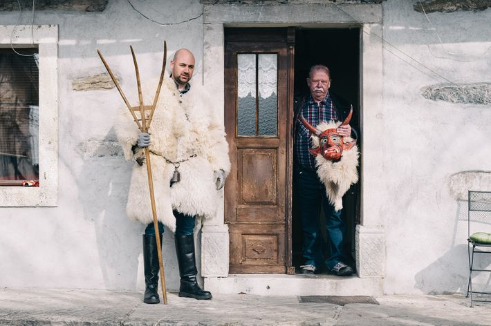 Dejan Žnidarčič y su padre Branko