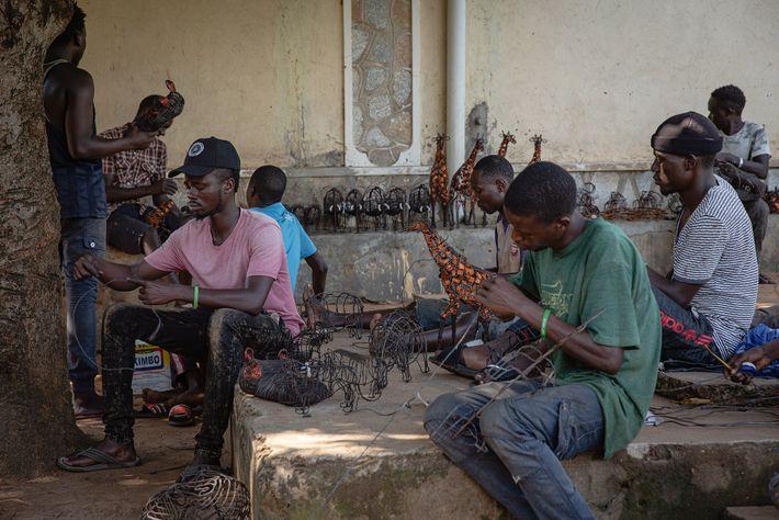 Los artesanos de Snares to Wares