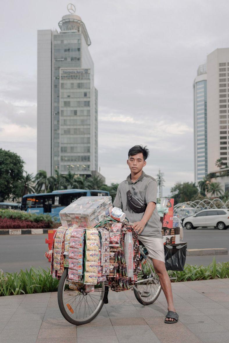 Fauzi, un trabajador informal