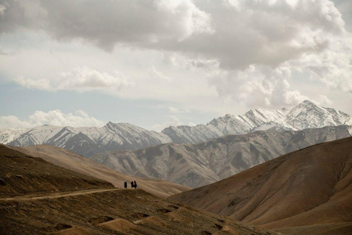 Las travesía montañosa durante el Nowruz