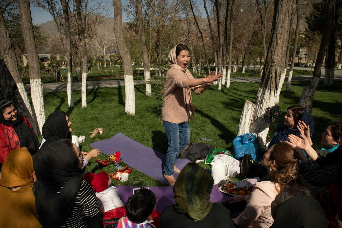 El taller de yoga de Momtaz