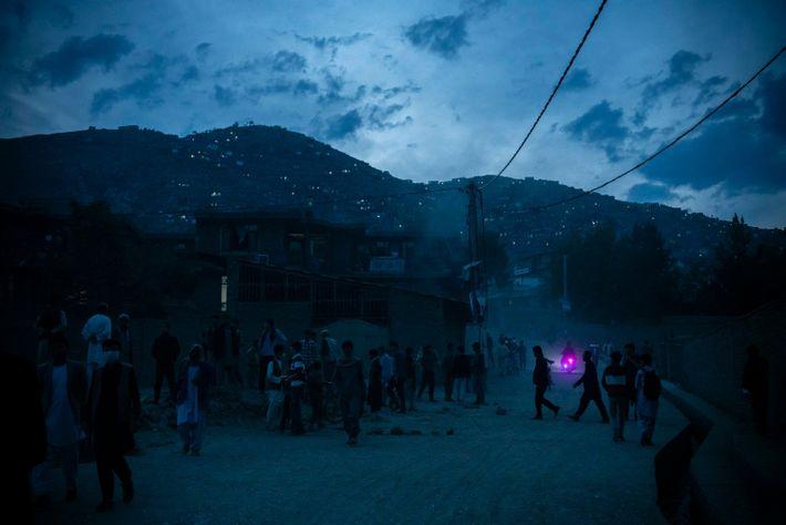 La noche tras las bombas