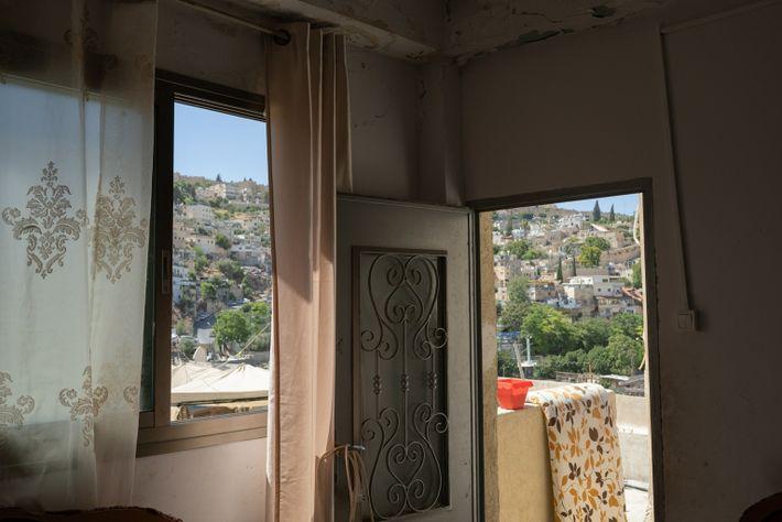 El salón de la familia de Rajoubi