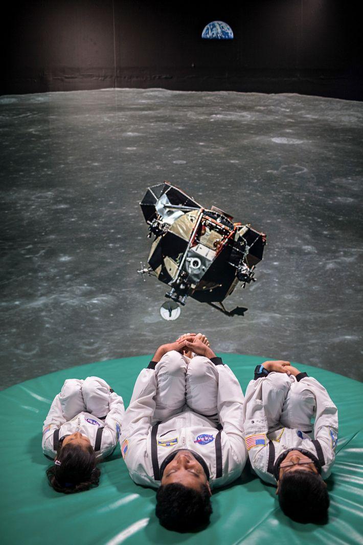 Fotomatón del Centro Espacial Kennedy