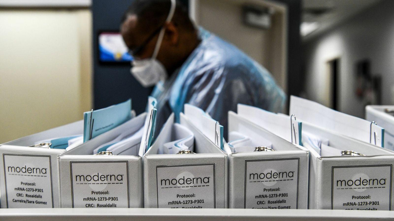 Archivos de protocolo de vacunación de Moderna