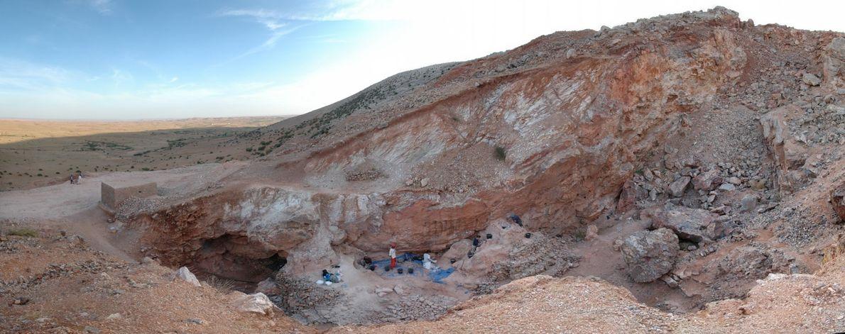 yacimiento de Jebel Irhoud