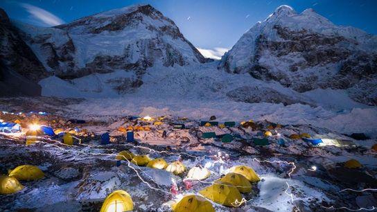 Campamento base del Everest.