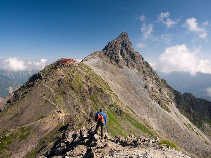 Monte Yari, Japón