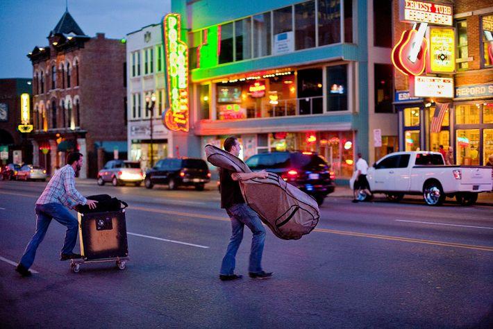 Músicos en Nashville