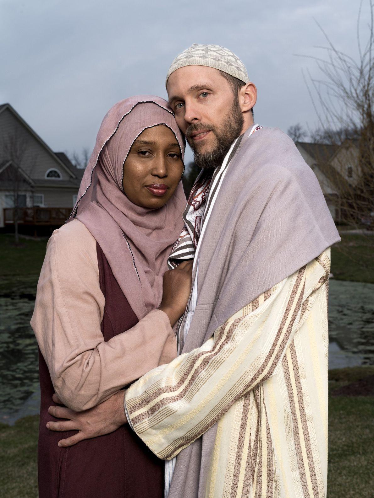 Kamilah Munirah Bolling y Adil Justin Cole
