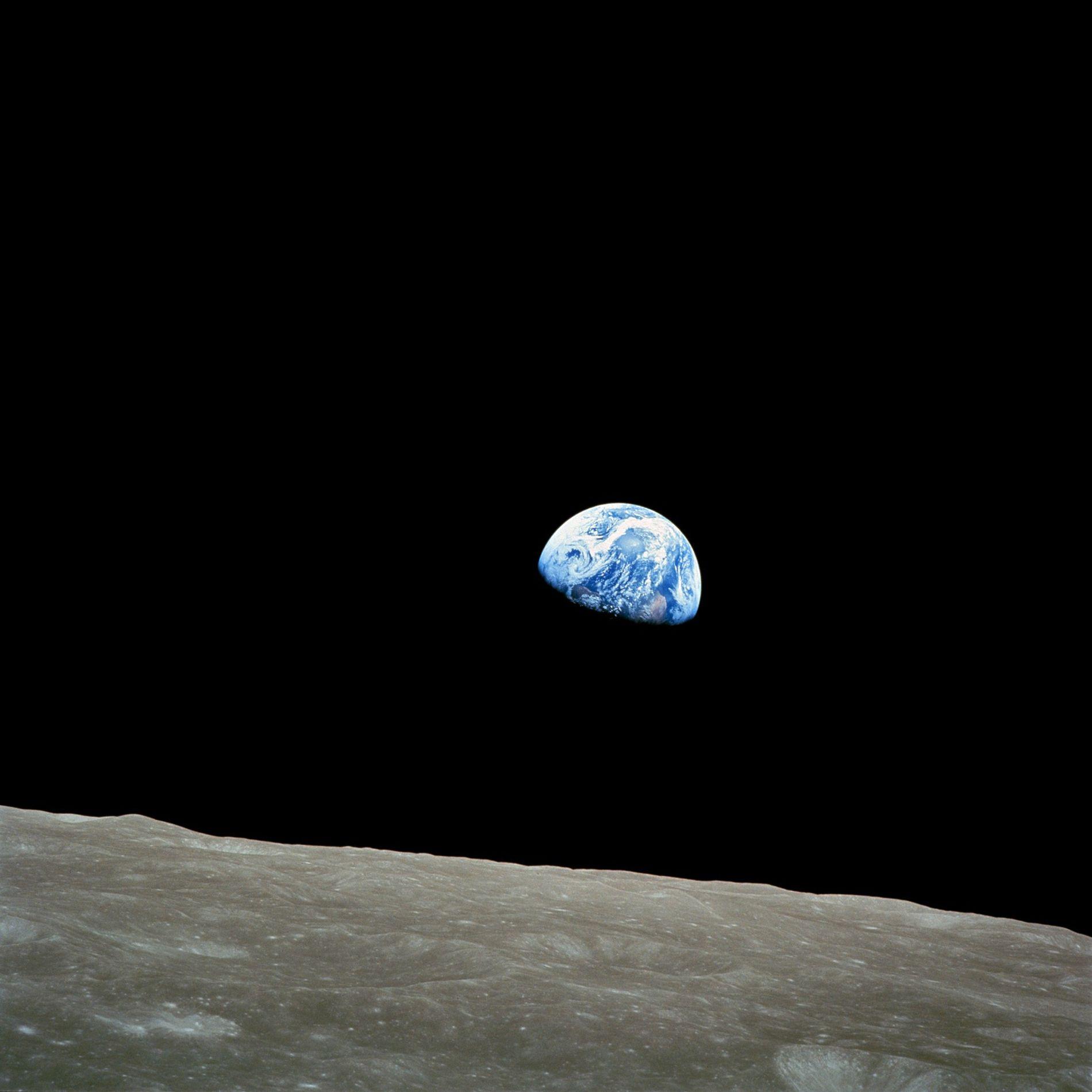La imagen de la Tierra saliendo sobre la luna en 1968 que lo cambió todo