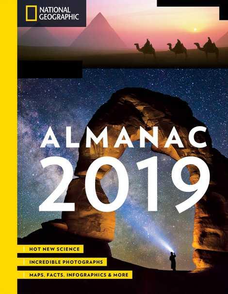 ElNational Geographic Almanac 2019 incluye estos y otros datos de viajes.