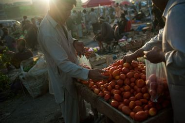 El mercado de Kabul