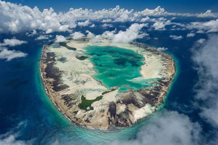 El atolón de Saint Joseph