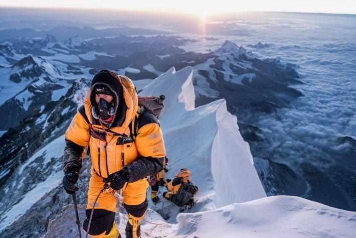 Fotografía de Mark Synnott en el Everest
