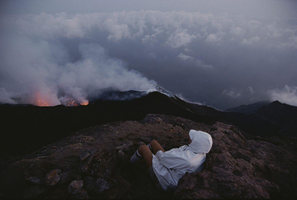 Volcanes activos Stromboli
