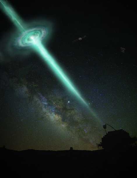 Detectan desde Canarias la mayor explosión cósmica de rayos gamma jamás registrada