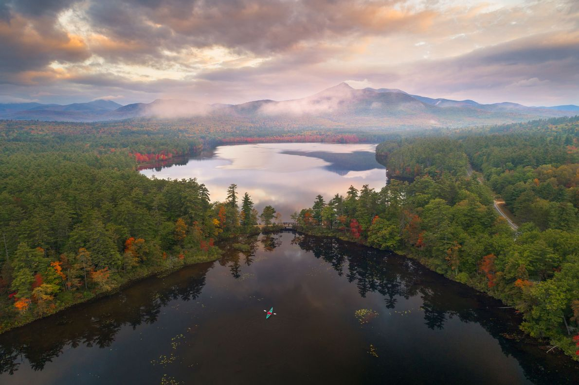 Lago Chocorua, New Hampshire
