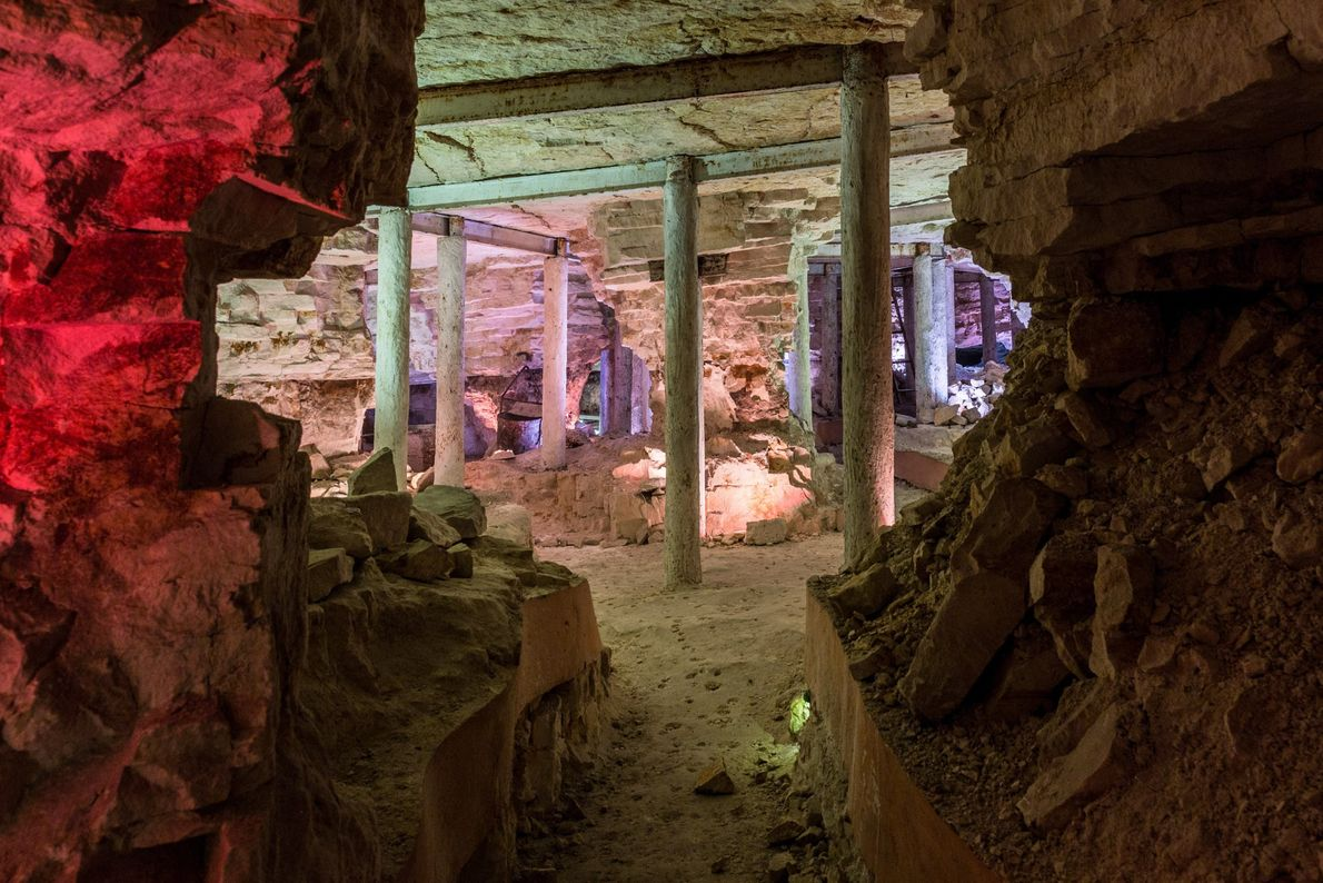 Región minera prehistórica del sílex rayado de Krzemionki, Polonia