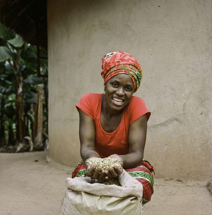 Jesca Kangai, de 35 años, vive en la aldea de Pangeti en el distrito de Mutasa ...