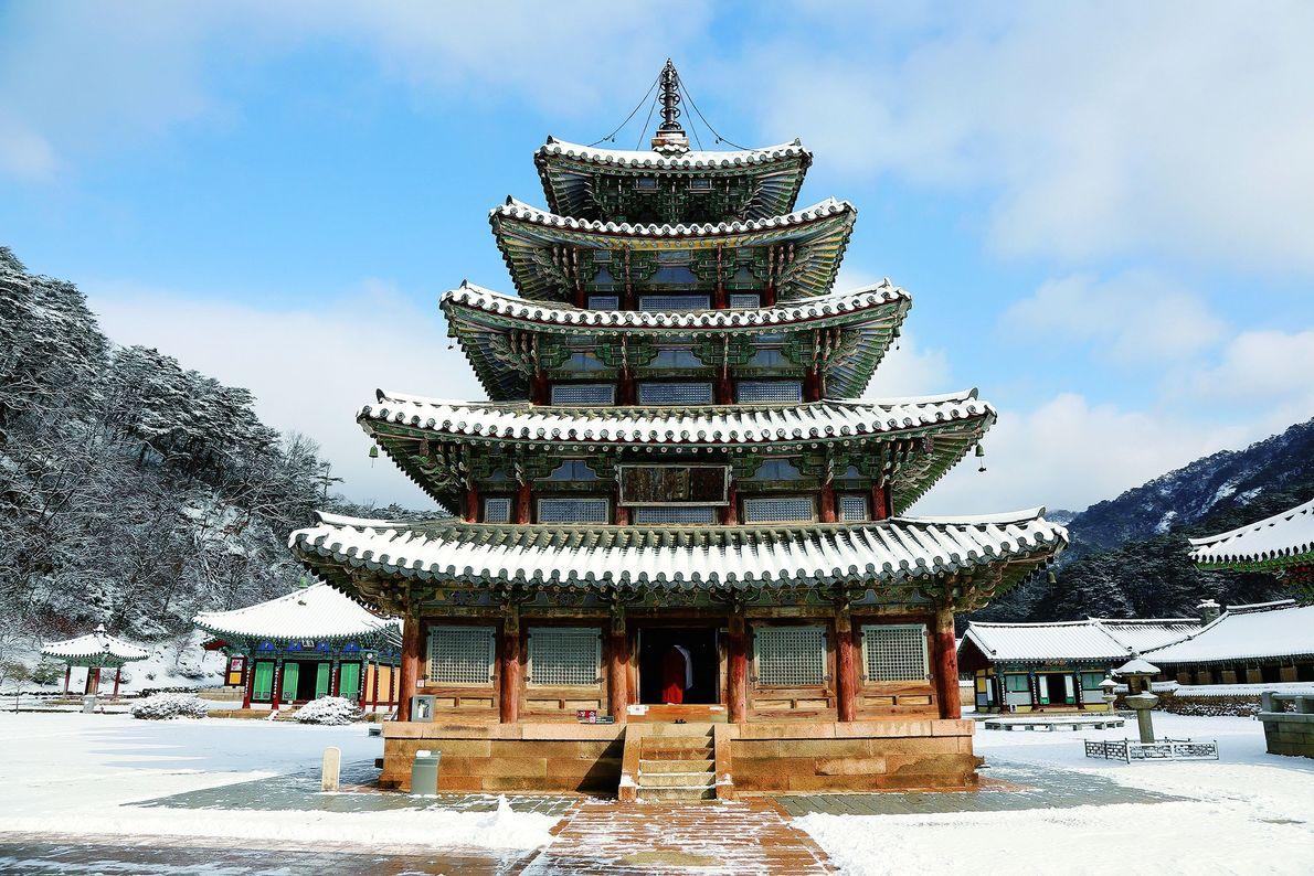 Los sansa, monasterios budistas de las montañas