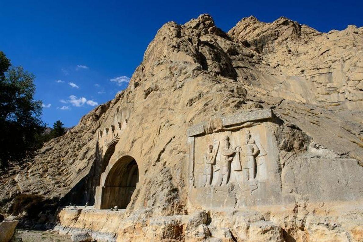 Paisaje arqueológico sasánida de la región del Fars