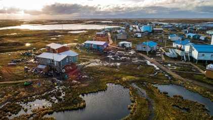 El cambio climático ha alcanzado este pueblo de Alaska