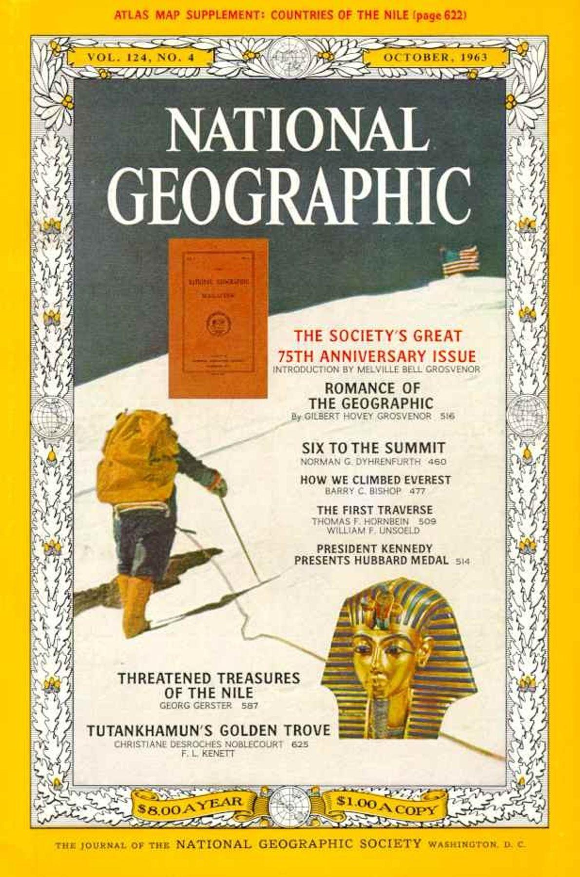 Octubre 1963: Número del 75 Aniversario