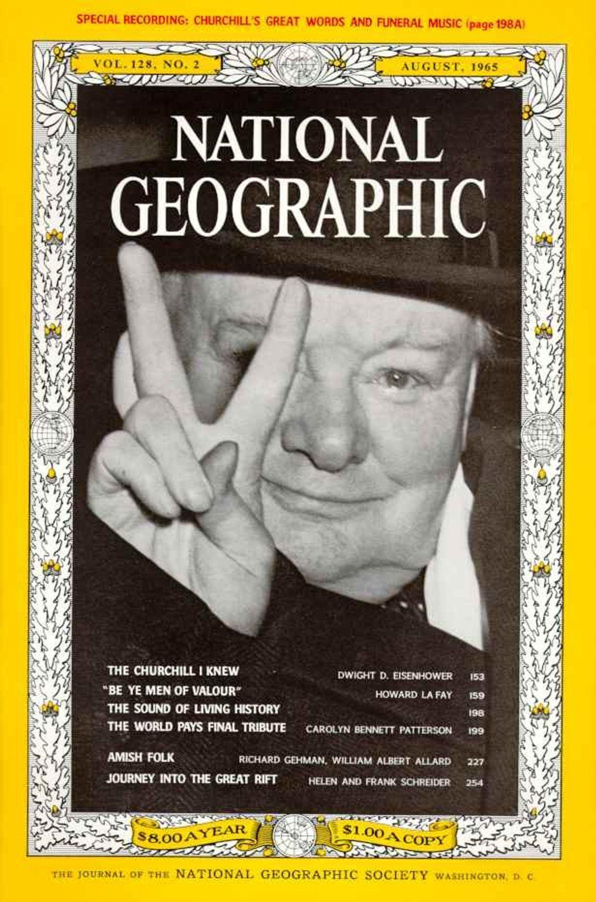 Agosto 1965: Recordando a Winston Churchill