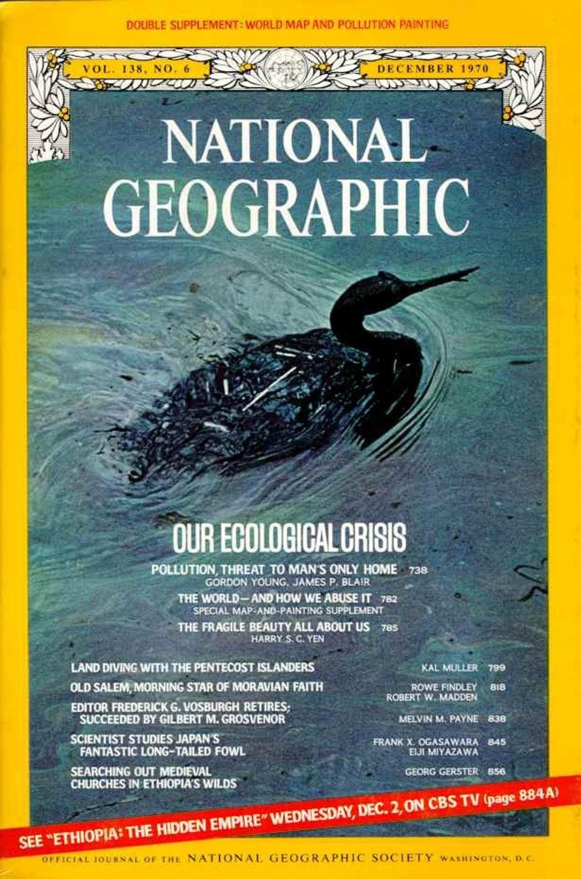 Diciembre 1970: crisis ecológica