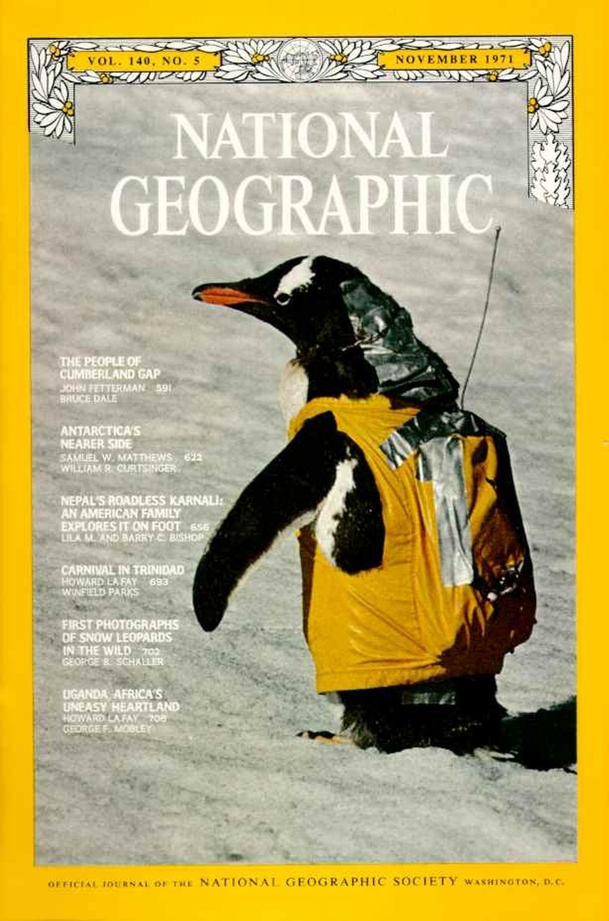 Noviembre 1971: La Antártida