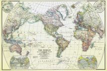 Primer mapamundi de referencia general